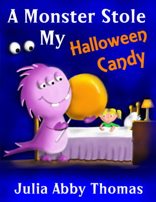 A Monster Stole My Halloween Candy